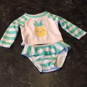 Gymboree Baby 2 Piece Rashguard  Swim 🏊♂️ Set
